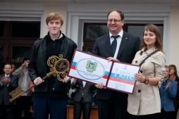 Выпускники школ вступили в ряды студентов ВятГУ