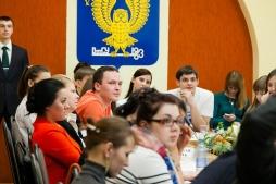 Слушатели МАГУ и ГФИ встретились с воспитанниками дома-интерната