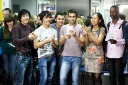 Иностранные студенты ВятГУ прикоснулись к «миру сказок»