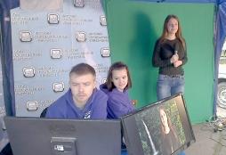 Команда студенческого телевидения ВятГУ приняла участие в праздновании Дня молодежи
