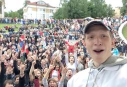 Студенты ВятГУ объединили музыкой 4 000 человек