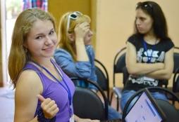 Студенты ВятГУ учили подрастающих волонтеров технологиям добра