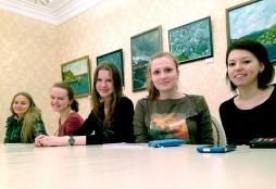 Студенты ВятГУ вместе с редакцией газеты «Новая строка» открыли клуб молодых журналистов