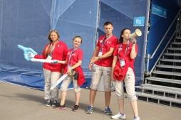 Волонтерский центр ВятГУ работает на Чемпионате мира по водным видам спорта