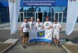 Спортсмены ВятГУ заняли 2 место в легкоатлетическом забеге в г. Ростов-на-Дону