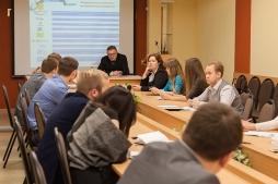 Слушатели МАГУ обсудили инновационную привлекательность региона
