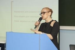 Слушатели проекта «Лекции в Политехническом» узнали о секретах копирайтинга от Светланы Майбродской