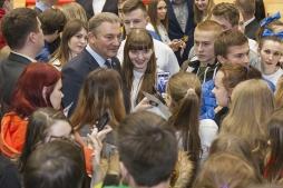 Владислав Третьяк презентовал региону студенческую хоккейную команду ВятГУ