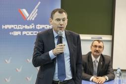 Депутат Госдумы РФ Виктор Климов рассказал студентам ВятГУ о программе «Кредитный фарватер»