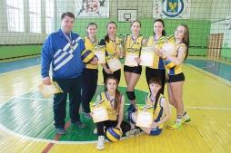 Студентки юридического факультета победили в чемпионате ВятГУ по волейболу