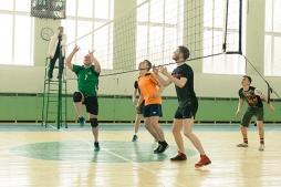 Победу в Чемпионате одержали волейболисты Электротехнического факультета ВятГУ