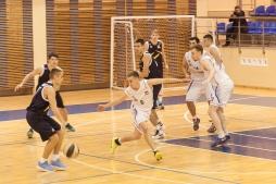 Результаты первых домашних матчей сборной ВятГУ по баскетболу в рамках Чемпионата АСБ