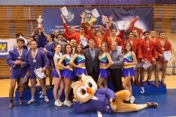 В ВятГУ впервые прошли командные соревнования по борьбе самбо