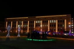 ВятГУ создает на Театральной площади праздничную атмосферу