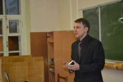 В ВятГУ прошел заключительный урок в уходящем году в рамках большого проекта «Уроки русского и литературы»