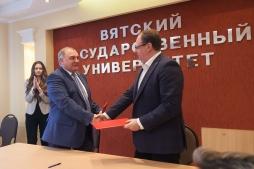 В ВятГУ подписано соглашение о сотрудничестве с Избирательной комиссией Кировской области
