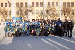Сборные ректора и студентов ВятГУ сыграли в хоккей