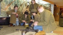 Студенты ВятГУ участвовали в организации интеллектуальной игры «Воин России»