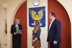 Волонтерский центр ВятГУ награжден благодарственным письмом от Управления Федеральной налоговой службы