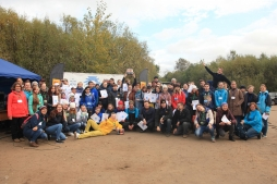 Студенты и сотрудники ВятГУ собрали почти 200 мешков мусора в Заречном парке