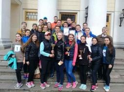 ВятГУ завоевал все призовые места в городской осенней легкоатлетической эстафете