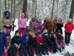 Студенты и преподаватели ВятГУ провели для школьников экологический квест «Двенадцать месяцев»