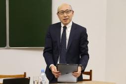 Томохиро Макино в ВятГУ