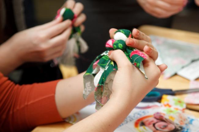 Изготовление кукол мастер класс
